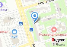 Компания «Риафарм» на карте