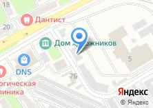 Компания «Троллейбусное депо №1» на карте