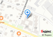 Компания «Клевое место» на карте