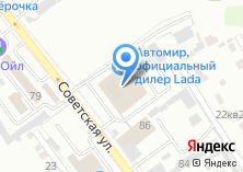 Компания «Автомир-Пересвет» на карте