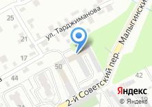 Компания «ЛАЗУР» на карте
