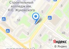 Компания «Симони» на карте