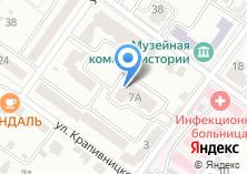 Компания «Строящийся жилой дом по ул. Луначарского» на карте