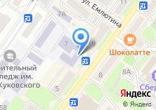 Компания «Академия стиля Подиум» на карте