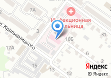 Компания «Брянская областная инфекционная больница» на карте