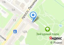 Компания «Проспект Недвижимость» на карте