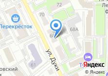 Компания «Универ» на карте