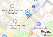 Компания «Неформат» на карте