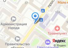 Компания «БИЗНЕС-ПЛАН-БРЯНСК ТЭО» на карте