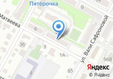 Компания «Универсальный магазин на ул. Матвеева» на карте