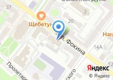 Компания «Федерация профсоюзов Брянской области» на карте