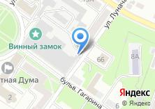 Компания «Брянскспиртпром» на карте