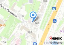 Компания «Магнит» на карте