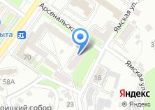 Компания «Брянскпищепродукт» на карте