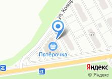 Компания «Варяг» на карте