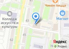 Компания «Фабрика обуви» на карте