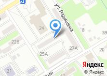 Компания «Мастерская по изготовлению ключей на ул. Клары Цеткин» на карте