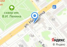 Компания «Сеть магазинов тканей и швейной фурнитуры» на карте
