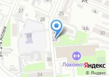 Компания «Лема» на карте