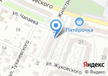 Компания «Муниципальное унитарное специализированное предприятие по вопросам похоронного дела г. Брянска» на карте