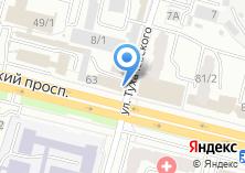 Компания «Аква» на карте