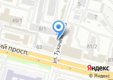 Компания «Мастерская шиномонтажа на Московском  проспекте» на карте