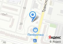 Компания «Универсалстрой» на карте