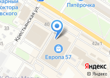 Компания «ЕвроОкноПРОФ» на карте