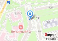 Компания «Bodytuning32» на карте