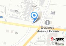 Компания «Шиномонтажная мастерская на ул. Гурьянова» на карте