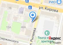 Компания «Булавочка» на карте