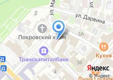 Компания «Военный комиссариат Калужской области» на карте