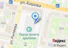 Компания «Территориальный пункт полиции на городском рынке г. Калуги» на карте