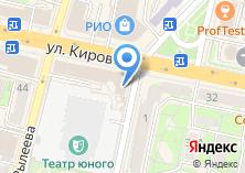 Компания «Салон сотовой связи на ул. Кирова» на карте