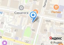 Компания «Ателье по ремонту одежды на Театральной» на карте