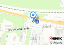 Компания «Автомойка в Воинском проезде» на карте