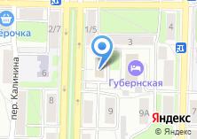 Компания «Территориальный фонд обязательного медицинского страхования Калужской области» на карте