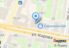 Компания «Европейский» на карте