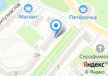 Компания «ДОС» на карте