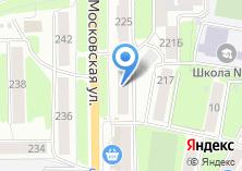Компания «Ателье по пошиву и ремонту одежды на Московской» на карте
