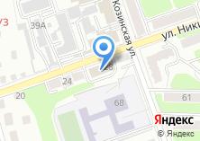 Компания «Всероссийское общество слепых» на карте
