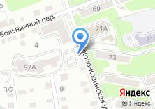 Компания «Автостоянка на Николо-Козинской» на карте