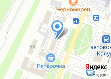 Компания «Линейный отдел полиции при станции Калуга» на карте