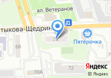 Компания «Общежитие» на карте