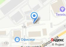Компания «ПрайдМастер» на карте