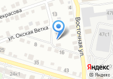 Компания «Автосервис на Окской ветке» на карте