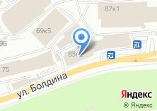 Компания «Шиномонтажная мастерская на ул. Болдина 67» на карте