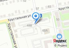 Компания «Автостоянка на Хрустальной» на карте
