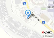 Компания «Строящийся жилой дом по ул. Есенина» на карте