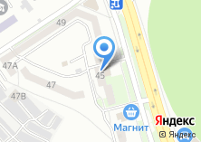 Компания «Губкинское» на карте
